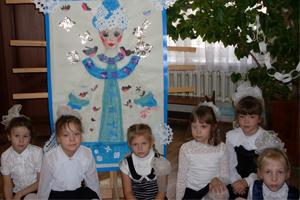 Творческий проект Зимний коллаж, воспитатель Олешко Т.Н.
